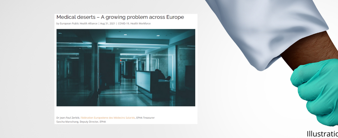 Medical deserts – A growing problem across Europe